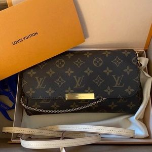 Auth Louis Vuitton Favorite MM Monogram